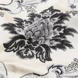 Europäisches und amerikanisches Markt-Polyester-Garn-gefärbtes Polsterung-Sofa-Jacquardwebstuhl-Gewebe für Sofa