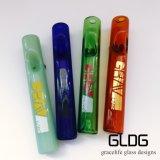 Il tubo di vetro all'ingrosso della mano di Gldg pesca il tubo della mano