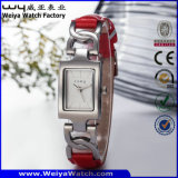 Wristwatch повелительниц кварца горячего сбывания способа ODM стальной (Wy-020B)