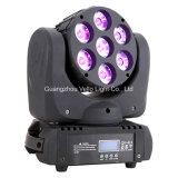 Vello LED RGBW 소형 광속 이동하는 맨 위 단계 빛 (LED Minibeam15)