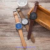 Orologi su ordinazione di modo della vigilanza del quarzo svizzero di marchio per le coppie (WY-17013E)