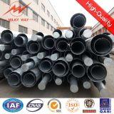 tubo de acero eléctrico galvanizado poste de la INMERSIÓN caliente de los 25FT