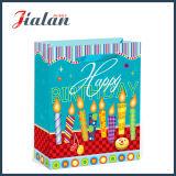 """Estampage chaud de """" joyeux anniversaire """" et sac de papier de achat de cadeau de transporteur de fleurs"""