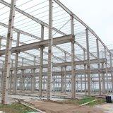 Gruppo di lavoro prefabbricato semplice del magazzino della struttura d'acciaio dell'indicatore luminoso di basso costo
