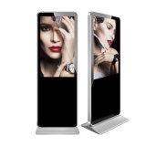 "Innen43 "" Fußboden-Standplatz vertikaler LCD-Bildschirm-androider Digitalsignage-Kiosk"