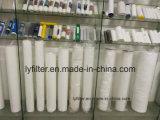 Cartucho de filtro hecho girar polipropileno del tratamiento de aguas de la fábrica con Od15-200mm
