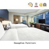 顧客用商業純木の現代的なホテルの寝室の家具(HD1302)