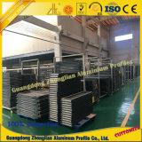 Profil d'extrusion en aluminium pour porte coulissante
