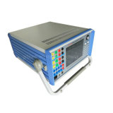 Dispositif à base de micro-ordinateur triphasé d'essai de protection de relais