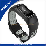 Ce aprobada colorido fabricados en China Smart Pulsera Reloj con las pruebas de la frecuencia cardiaca