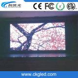 Un contraste élevé P7.62 Indoor mur de LED pour la publicité de l'écran