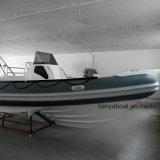 Boots-Fiberglas-Rumpf-aufblasbares Boot des Liya 8.3m Außenbordmotor250hp