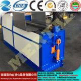 Máquina hidráulica de la laminación de la hoja de 4 rodillos