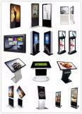 LCD 디지털 Signage 전시를 광고하는 큰 접촉 스크린 지면 대 간이 건축물