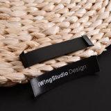 Il formato tessuto cotone su ordinazione etichetta i contrassegni dell'indumento