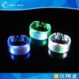 공장 가격 LED 번쩍이는 팔찌, 먼 통제되는 LED 팔찌, 움직임 LED 가벼운 팔찌