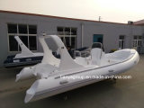 Liya 20FT barco inflável Hypalon rígida de fibra de barcos de Costela