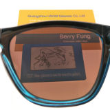 2018 красочные поляризованной вилкой для женщин солнечные очки с УФ400 логотип