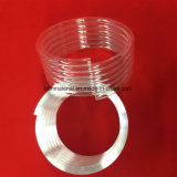 暖房のための明確なSpiraの水晶ガラス管