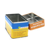 Envases vacíos Guantes Hospital Madicine tin box
