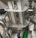 Wenzhou Plastikk Cup-Kaffee-Kapsel-Dichtungs-Füllmaschine