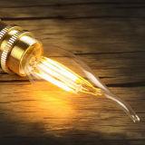 L'alta qualità all'ingrosso 6W si dirige la lampadina decorativa del filamento dell'indicatore luminoso E14 E27 LED della candela