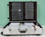 Caixa mostrando de néon da caixa de néon portátil da amostra para o fornecedor profissional