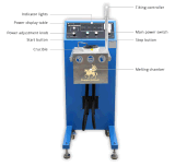 De aangepaste Overhellende Machine van de Verwarmer van het Smelten van metaal van het Type voor Gouden Platina