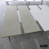 Professional Non-Radiative de gros d'usine de quartz blanc pur de comptoir de cuisine