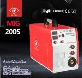 Soldador do inversor MIG/MMA de IGBT com certificado do Ce (MIG-160S/180S/200S)