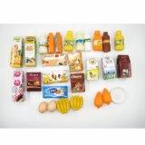 교육 아이 장난감의 인형 집 쇼핑 트롤리 세트를 가장하십시오