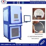 Machine UV d'inscription de laser de couverture entourée par ce pour la glace en cuir