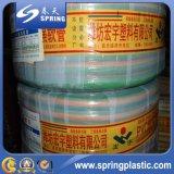 Boyau de jardin de PVC/tube/canalisation renforcés avec le jeu de bec de pulvérisation