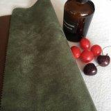 Venda a quente estampagem tecido camurça para sofá e cadeira