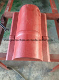 Roulis imperméable à l'eau professionnel de chapeau de Ridge de panneau de toiture formant la machine pour la construction de Chambre