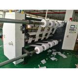 Rolo jumbo de alta precisão corte longitudinal da máquina para papel revestido