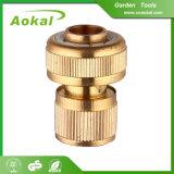 Ajustage de précision de pipe en laiton de petit connecteur métrique de boyau pour le jardin