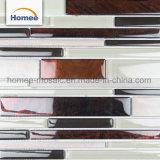 高品質OEM 8mmの台所Backsplashのタイルのガラスモザイク・タイル