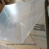 Hoja de aluminio revestida del color plateado