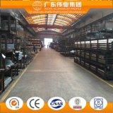 60 séries d'alliage d'aluminium de guichet de système de glissement de guichet en aluminium