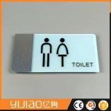 Het recentste Teken van het Toilet van het Ontwerp Acryl