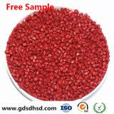 Rode Kleur Masterbatch voor Opslag/Verpakking/Plastic Doos