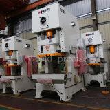 Jh21 máquina aluída da imprensa de perfurador mecânico do frame da série C única com uma potência de 160 toneladas