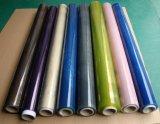 Película transparente, Rana el cine, películas en color, chapado de TPU/láser para el revestimiento de la película, ropa, bolsas, calzado, textil hogar