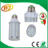Luz E27, luz del maíz del LED del maíz del LED