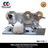 Traceur alimentant de coupeur de vinyle d'étiquette d'automobile rotatoire