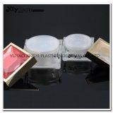 Gostavas de plástico de 50 ml de acrílico Mini-jarro de cosméticos