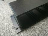 Profilo anodizzato nero di alluminio dell'espulsione 6063t5/di alluminio