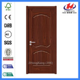 Le film publicitaire conçoivent la porte en fonction du client de pièce de placage d'entrée principale en bois solide (JHK-009-2)
