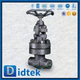 API van Didtek de Bonnet Gesmede Klep van de Bol voor de Raffinaderij van de Olie
